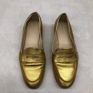 Primary Photo - BRAND: COLE-HAAN STYLE: SHOES FLATS COLOR: GOLD SIZE: 10 SKU: 191-191217-1849