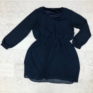 Primary Photo - BRAND: EXPRESS STYLE: DRESS SHORT LONG SLEEVE COLOR: NAVY SIZE: L SKU: 191-191218-5795