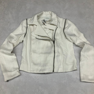 Primary Photo - BRAND:    CLOTHES MENTOR STYLE: BLAZER JACKET COLOR: CREAM SIZE: M OTHER INFO: PIPERLIME - SKU: 191-191212-7149