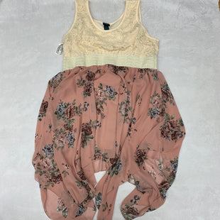 Primary Photo - BRAND: RUE 21 STYLE: DRESS SHORT SLEEVELESS COLOR: PINK SIZE: 3X SKU: 191-191212-8854