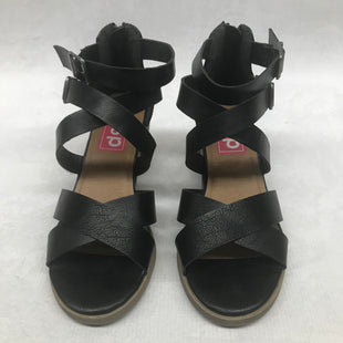Primary Photo - BRAND:    CLOTHES MENTOR STYLE: SANDALS LOW COLOR: BLACK SIZE: 8 SKU: 191-19158-31340