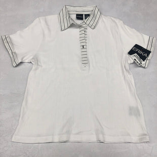 Primary Photo - BRAND:    CLOTHES MENTOR STYLE: TOP SHORT SLEEVE COLOR: WHITE SIZE: M OTHER INFO: ERIKA - SKU: 191-191212-8787