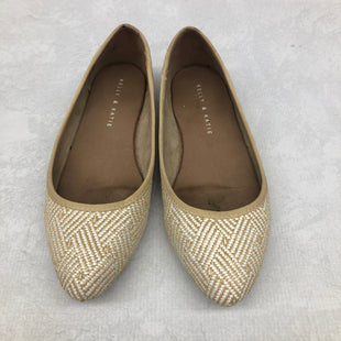 Primary Photo - BRAND: KELLY AND KATIE STYLE: SHOES FLATS COLOR: BEIGE SIZE: 7 SKU: 191-191196-5920