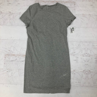 Primary Photo - BRAND: OLD NAVY STYLE: DRESS SHORT SHORT SLEEVE COLOR: GREY SIZE: L SKU: 191-191218-5790