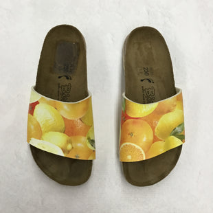 Primary Photo - BRAND: BIRKENSTOCKSTYLE: SHOES FLATSCOLOR: YELLOWSIZE: 6SKU: 191-19145-9018
