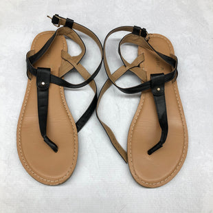 Primary Photo - BRAND: MONTEGO BAY STYLE: SANDALS FLAT COLOR: BLACK SIZE: 11 SKU: 191-191218-2093