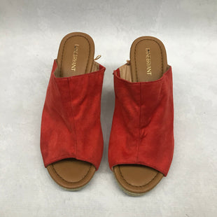 Primary Photo - BRAND: LANE BRYANT STYLE: SANDALS HIGH COLOR: ORANGE SIZE: 12 SKU: 191-191212-8844