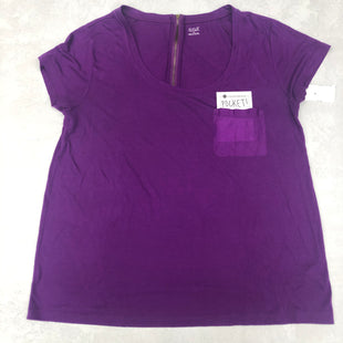 Primary Photo - BRAND: ANA STYLE: TOP SHORT SLEEVE BASIC COLOR: PURPLE SIZE: L SKU: 191-191212-8789