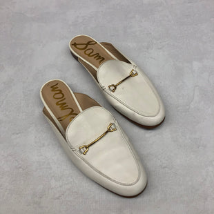 Primary Photo - BRAND: SAM EDELMAN STYLE: SHOES FLATS COLOR: WHITE SIZE: 10 SKU: 191-191218-6902