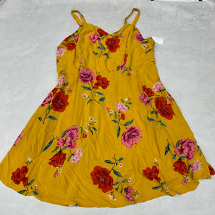 Primary Photo - BRAND: OLD NAVY STYLE: DRESS SHORT SLEEVELESS COLOR: YELLOW SIZE: 3X SKU: 191-191212-8852