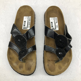 Primary Photo - BRAND: BIRKENSTOCK STYLE: SANDALS FLAT COLOR: BLACK SIZE: 8 SKU: 191-191175-17274