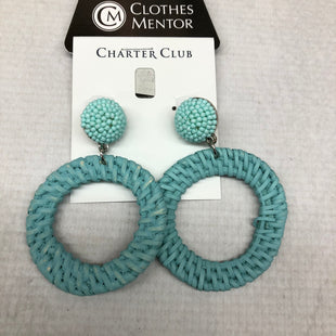 Primary Photo - BRAND: CHARTER CLUB STYLE: EARRINGS COLOR: BLUE SKU: 191-191175-15553