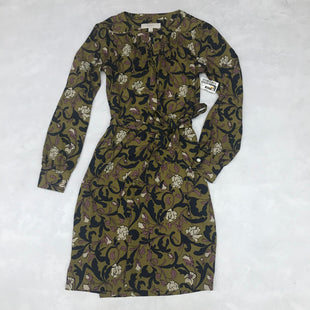 Primary Photo - BRAND: ANN TAYLOR LOFT STYLE: DRESS SHORT LONG SLEEVE COLOR: GREEN SIZE: XS SKU: 191-19145-18651