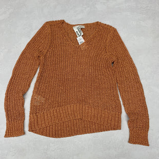 Primary Photo - BRAND: LOFT STYLE: SWEATER LIGHTWEIGHT COLOR: RUST SIZE: S OTHER INFO: NEW! SKU: 191-191175-18335