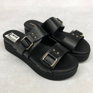 Primary Photo - BRAND: ELIZABETH AND JAMES STYLE: SANDALS LOW COLOR: BLACK SIZE: 9.5 SKU: 191-19145-20266