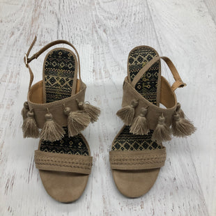 Primary Photo - BRAND: ALTARD STATE STYLE: SANDALS LOW COLOR: TAN SIZE: 7 SKU: 191-191218-4385
