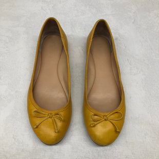 Primary Photo - BRAND: BANANA REPUBLIC STYLE: SHOES FLATS COLOR: YELLOW SIZE: 8 SKU: 191-191229-572