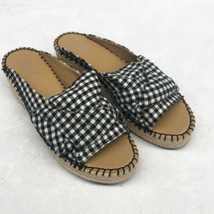 Primary Photo - BRAND: FRANCO SARTO STYLE: SANDALS LOW COLOR: CHECKED SIZE: 7.5 SKU: 191-191219-3127