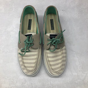 Primary Photo - BRAND: SPERRY STYLE: SHOES FLATS COLOR: GREY SIZE: 9.5 SKU: 191-19145-18483