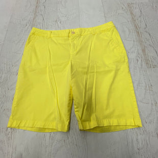 Primary Photo - BRAND: LIZ CLAIBORNE STYLE: SHORTS COLOR: YELLOW SIZE: 14 SKU: 191-191218-2758