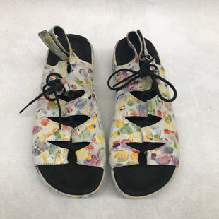 Primary Photo - BRAND:    CLOTHES MENTOR STYLE: SANDALS FLAT COLOR: MULTI SIZE: 7.5 OTHER INFO: WOLKY - SKU: 191-191212-8860