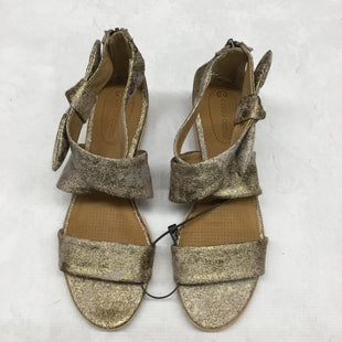 Primary Photo - BRAND:    CLOTHES MENTOR STYLE: SANDALS LOW COLOR: GOLD SIZE: 7.5 SKU: 191-191212-9059