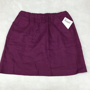 Primary Photo - BRAND: LOFT STYLE: SKIRT COLOR: PURPLE SIZE: M SKU: 191-191229-2485