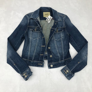 Primary Photo - BRAND: PAIGE STYLE: BLAZER JACKET COLOR: DENIM SIZE: XS SKU: 191-191217-2581