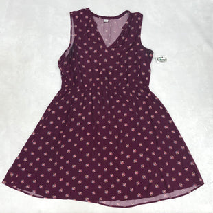 Primary Photo - BRAND: OLD NAVY STYLE: DRESS SHORT SLEEVELESS COLOR: PURPLE SIZE: XL SKU: 191-191220-1321