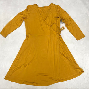 Primary Photo - BRAND: OLD NAVY STYLE: DRESS SHORT LONG SLEEVE COLOR: YELLOW SIZE: M SKU: 191-191218-5789