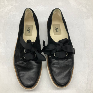 Primary Photo - BRAND: UGG STYLE: SHOES FLATS COLOR: BLACK SIZE: 8 SKU: 191-191212-7014