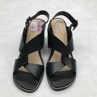 Primary Photo - BRAND: TAHARI STYLE: SANDALS LOW COLOR: BLACK SIZE: 7 SKU: 191-19145-21340