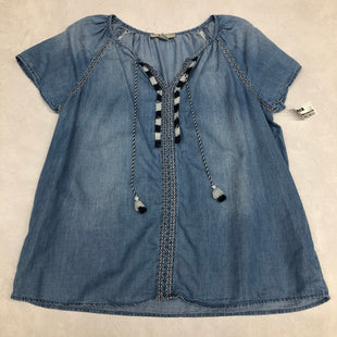 Primary Photo - BRAND: VINTAGE AMERICA STYLE: TOP LONG SLEEVE COLOR: DENIM SIZE: L SKU: 191-191196-3695