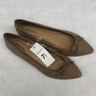Primary Photo - BRAND: MERONA STYLE: SHOES FLATS COLOR: TAUPE SIZE: 7.5 SKU: 191-19145-20281