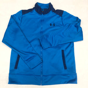 Primary Photo - BRAND: UNDER ARMOUR STYLE: FLEECE COLOR: BLUE SIZE: M SKU: 191-191219-3235