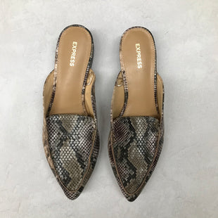 Primary Photo - BRAND: EXPRESS STYLE: SHOES FLATS COLOR: SNAKESKIN PRINT SIZE: 9 SKU: 191-191175-16171