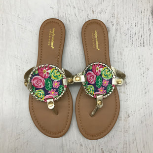 Primary Photo - BRAND: SIMPLY SOUTHERN STYLE: SANDALS FLAT (REVERSIBLE)COLOR: NAVY SIZE: 9 SKU: 191-191218-2899