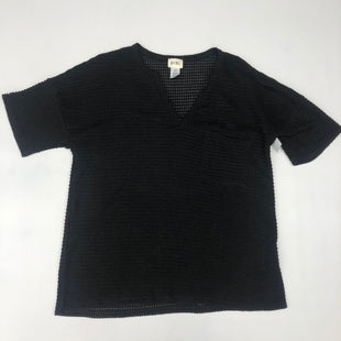 Primary Photo - BRAND:    CLOTHES MENTOR STYLE: TOP SHORT SLEEVE COLOR: BLACK SIZE: L SKU: 191-191233-144