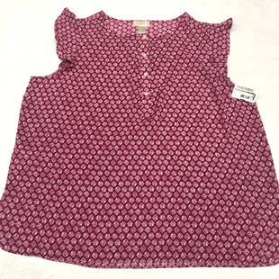 Primary Photo - BRAND: ANN TAYLOR LOFT O STYLE: TOP SLEEVELESS COLOR: PURPLE SIZE: XL SKU: 191-191212-8985