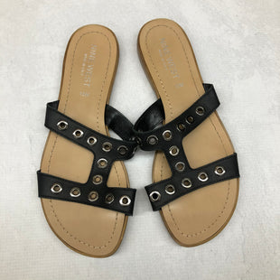 Primary Photo - BRAND: NINE WEST STYLE: SANDALS FLAT COLOR: BLACK SIZE: 10 SKU: 191-191229-1999