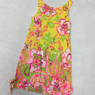 Primary Photo - BRAND: LILLY PULITZER STYLE: DRESS SHORT SLEEVELESS COLOR: YELLOW SIZE: XS SKU: 191-191175-15029