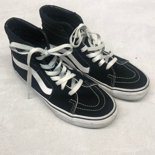 Primary Photo - BRAND: VANS STYLE: SHOES FLATS COLOR: BLACK SIZE: 9 SKU: 191-191219-3120