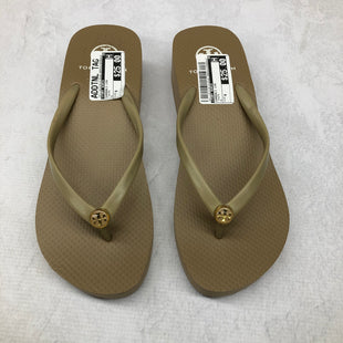 Primary Photo - BRAND: TORY BURCH STYLE: SANDALS LOW COLOR: TAUPE SIZE: 8 SKU: 191-191218-4125