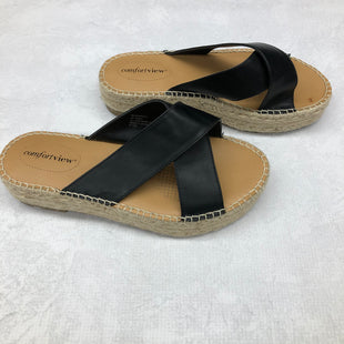 Primary Photo - BRAND: COMFORTVIEW STYLE: SANDALS LOW COLOR: BLACK SIZE: 8.5 SKU: 191-19145-17336