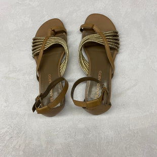 Primary Photo - BRAND: FRANCO SARTO STYLE: SANDALS FLAT COLOR: TAN SIZE: 9.5 SKU: 191-191218-1790