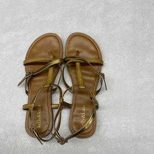 Primary Photo - BRAND: KELLY AND KATIE STYLE: SANDALS FLAT COLOR: TAN SIZE: 9.5 SKU: 191-191218-1789