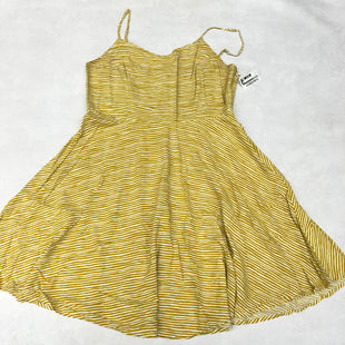 Primary Photo - BRAND: OLD NAVY STYLE: DRESS SHORT SLEEVELESS COLOR: YELLOW SIZE: L SKU: 191-191212-8717