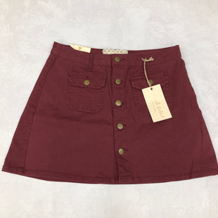 Primary Photo - BRAND: ALTARD STATE STYLE: SKIRT COLOR: BURGUNDY SIZE: M SKU: 191-19145-22017