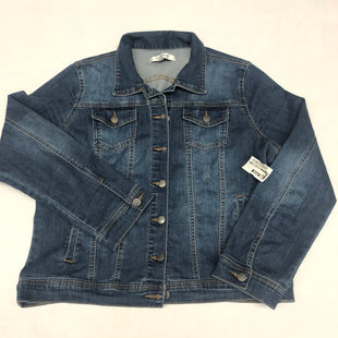 Primary Photo - BRAND:    CLOTHES MENTOR STYLE: BLAZER JACKET COLOR: DENIM BLUE SIZE: 1X SKU: 191-191212-8992