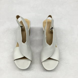 Primary Photo - BRAND: CLARKS STYLE: SANDALS HIGH COLOR: WHITE SIZE: 9 SKU: 191-191217-2671
